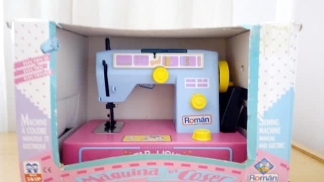 La mejor máquina de coser de juguete para niñas