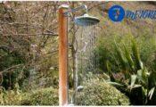 Las 7 mejores duchas solares para el jardín y el camping