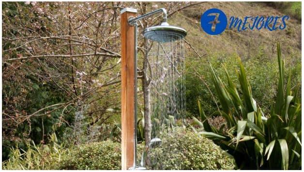 Las mejores duchas para instalar en el jardín - Ofertas especiales