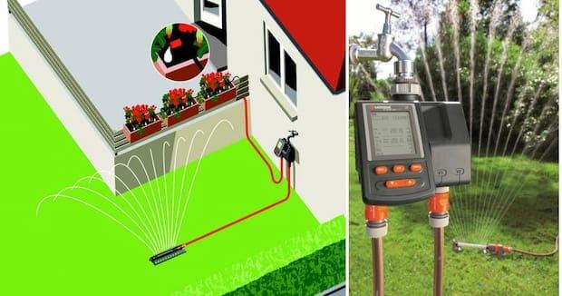 El mejor sistema de riego automático para tu jardín - Oferta