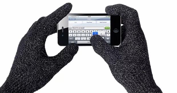 Guantes para utilizar en el móvil o tablet - táctiles