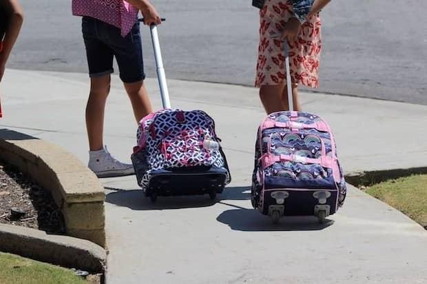 Mochilas escolares con ruedas - Los mejores modelos